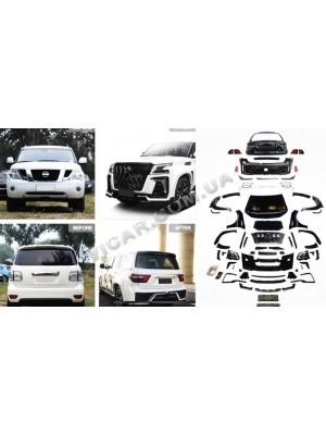 Комплект обвеса в стиле 21года для  Nissan Patrol 10+