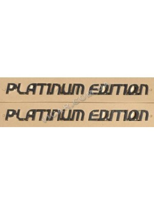 Наклейки Platinum Edition (2 шт)