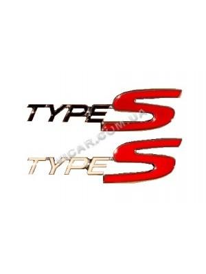 Эмблема радиаторной решетки Type S