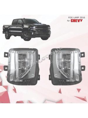 Противотуманные фары Chevrolet Silverado 2016+