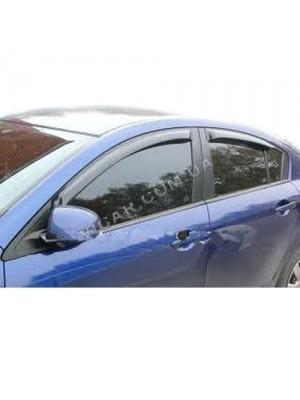 Дефлекторы окон Mazda 3 (2003-09)