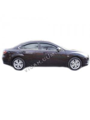 Дефлекторы окон Mazda 6 (2008-10)
