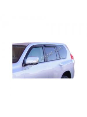 Ветровики-дефлекторы окон Toyota Prado 150 (09-13)