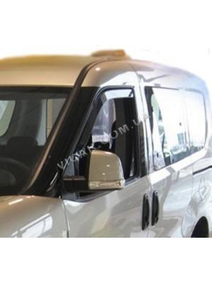 Дефлекторы окон Fiat Doblo (2010...)