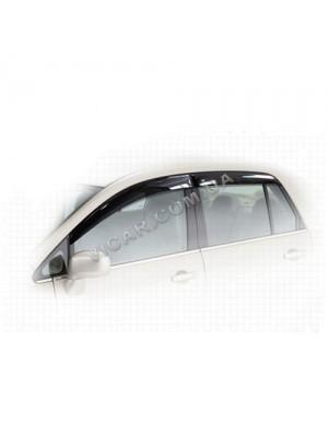 Дефлекторы окон Nissan Tiida (2007...)