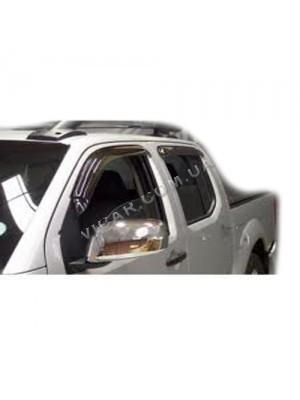 Дефлекторы окон Nissan Navara (2005...)