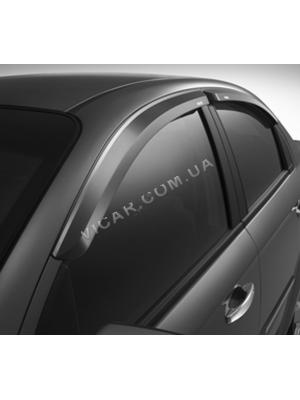 Дефлекторы окон Mercedes E Class W211 (02-09)