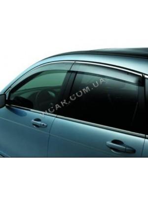 Дефлекторы окон (хром) Honda CRV (2007-11)
