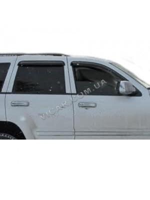 Дефлекторы окон Jeep Grand Cherokee (2006-10)
