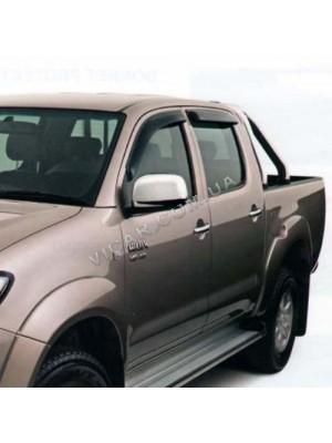 Дефлекторы окон Toyota Hilux (06+)