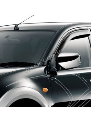 Дефлекторы окон Mitsubishi L200 (05+)