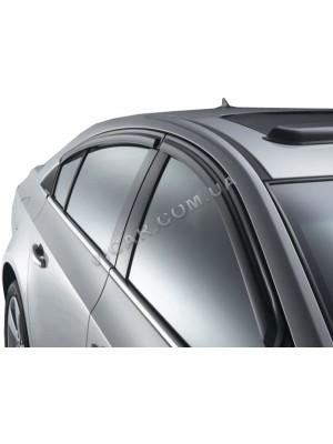 Дефлекторы окон - ветровики Chevrolet Cruze (2011)