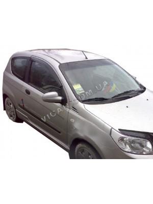 Дефлекторы окон (ветровики) Chevrolet Aveo (2008...)