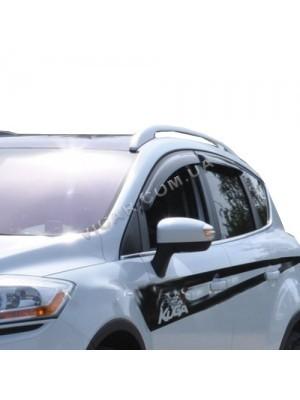 Дефлекторы окон - ветровики Ford Kuga (2008...)