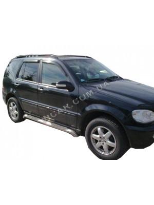 Дефлекторы окон (ветровики) Mercedes (W163), (1998-05)