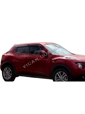 Дефлекторы окон (ветровики) Nissan Juke (2011)