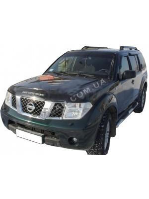 Дефлекторы окон (ветровики) Nissan Patfhinder (2005…)