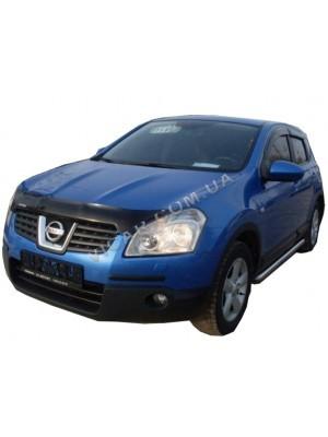 Дефлекторы окон (ветровики) Nissan QashQai (2007)
