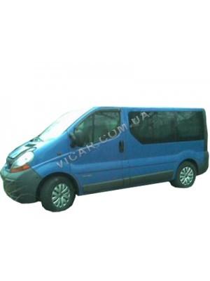 Дефлекторы окон (ветровики) Renault Trafic (2004-10)