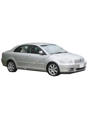 Дефлекторы окон (ветровики) Toyota Avensis (2003-08)