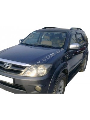 Дефлекторы окон (ветровики) Toyota Fortuner (2005…)