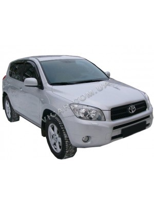 Дефлекторы окон (ветровики) Toyota RAV 4 (06-09)