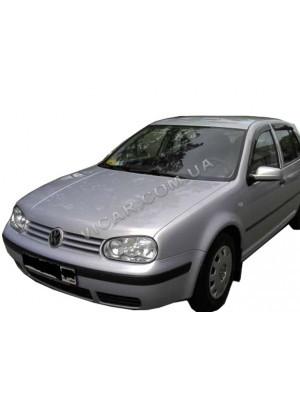 Дефлекторы окон (ветровики) Volkswagen Golf 4 (1999-03)