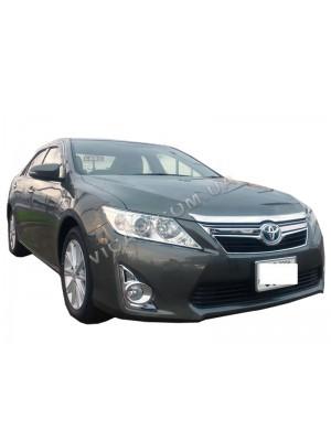 Дефлекторы окон (ветровики) Toyota Camry  50 (2012...)