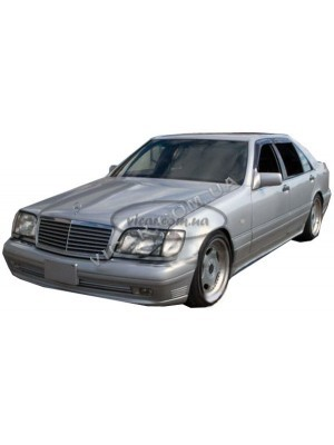 Дефлекторы окон (ветровики) Mercedes (W140)