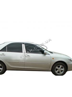 Дефлекторы окон (ветровики) Toyota Camry 30 (2002-06)