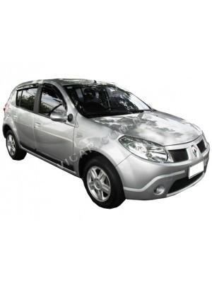 Дефлекторы окон (ветровики) Renault Sandero (2009...)