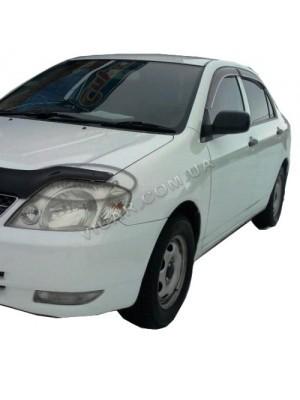 Дефлекторы окон - ветровики Toyota Corolla (01-06)