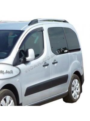 Дефлекторы окон (ветровики) Peugeot Partner