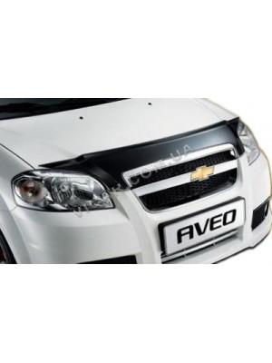 Дефлектор капота Chevrolet Aveo (2006..)