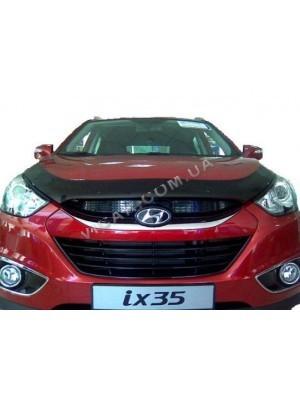 Дефлектор капота Hyundai IX35 (2009...)