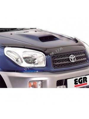 Дефлектор капота Toyota RAV4 (01-05)