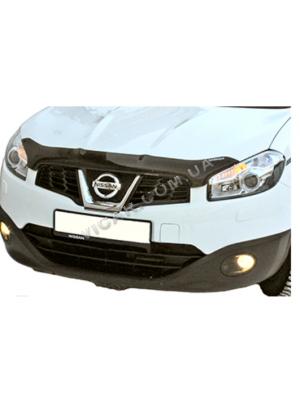 Дефлектор капота Nissan Qashqai +2 (2008...)