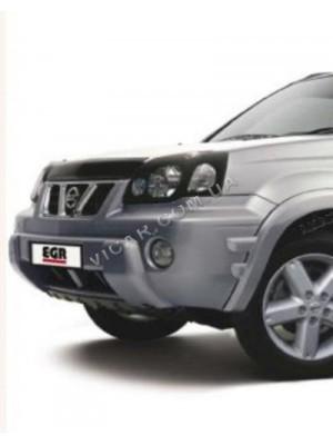 Дефлектор капота Nissan X-Trail (2003-07)
