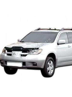 Дефлектор капота Mitsubishi Outlander (03-06)