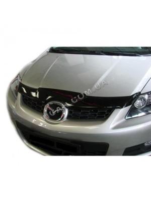 Дефлектор капота Mazda CX7 (2007...)