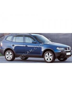 Дефлекторы окон BMW X3 (2011...)