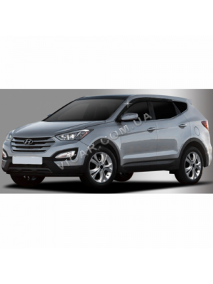 Дефлекторы окон Hyundai Santa Fe (2013...)