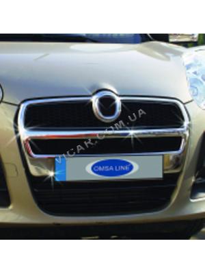 Накладка на решетку радиатора Fiat Doblo (2010...)
