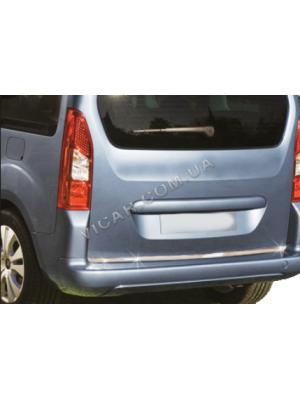 Накладка на нижнюю кромку крышки багажника Citroen Berlingo