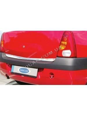 Накладка на нижнюю кромку крышки багажника Dacia Logan (2005...)