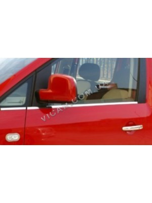 Нижние молдинги стекол volkswagen caddy (2004-10)