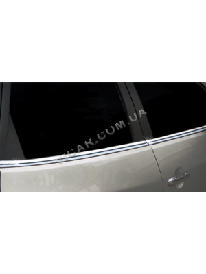 Нижние молдинги стекол hyundai accent (06-10)