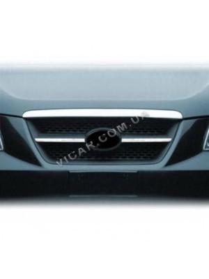 Накладки на решетку радиатора Hyundai Sonata NF (2005 - 09)