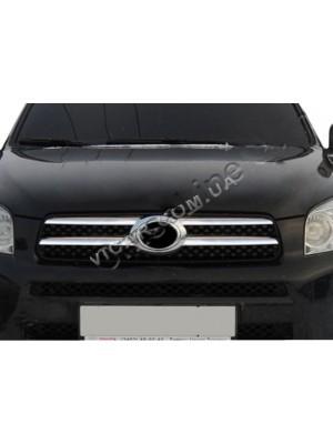 Накладки на решетку радиатора Toyota RAV-4 (2006 ...)