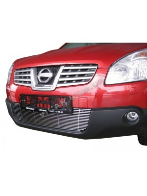 Накладки на решетку радиатора Nissan Qashqai (2007...)